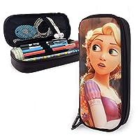 ラプンツェル(塔の上のラプンツェル) ペンケース 筆箱 化粧ポーチ 取り出しやすい ファスナー付き 収納可能 多機能 持ち運びに便利 学生 大人適用 男女兼用