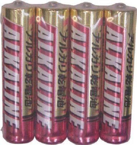 アルカリ乾電池 単4 LR03R/4S パック4本