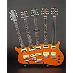 AXE HEAVEN RICK NIELSEN™ Five-Neck Orange Monster Mini Guitar Replica Collectible - Officially Licensed [並行輸入品]