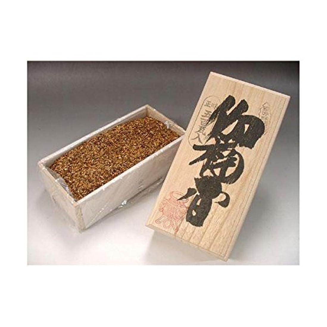 マスタード戦い崇拝する焼香 伽楠香(カナンコウ)500g桐箱入