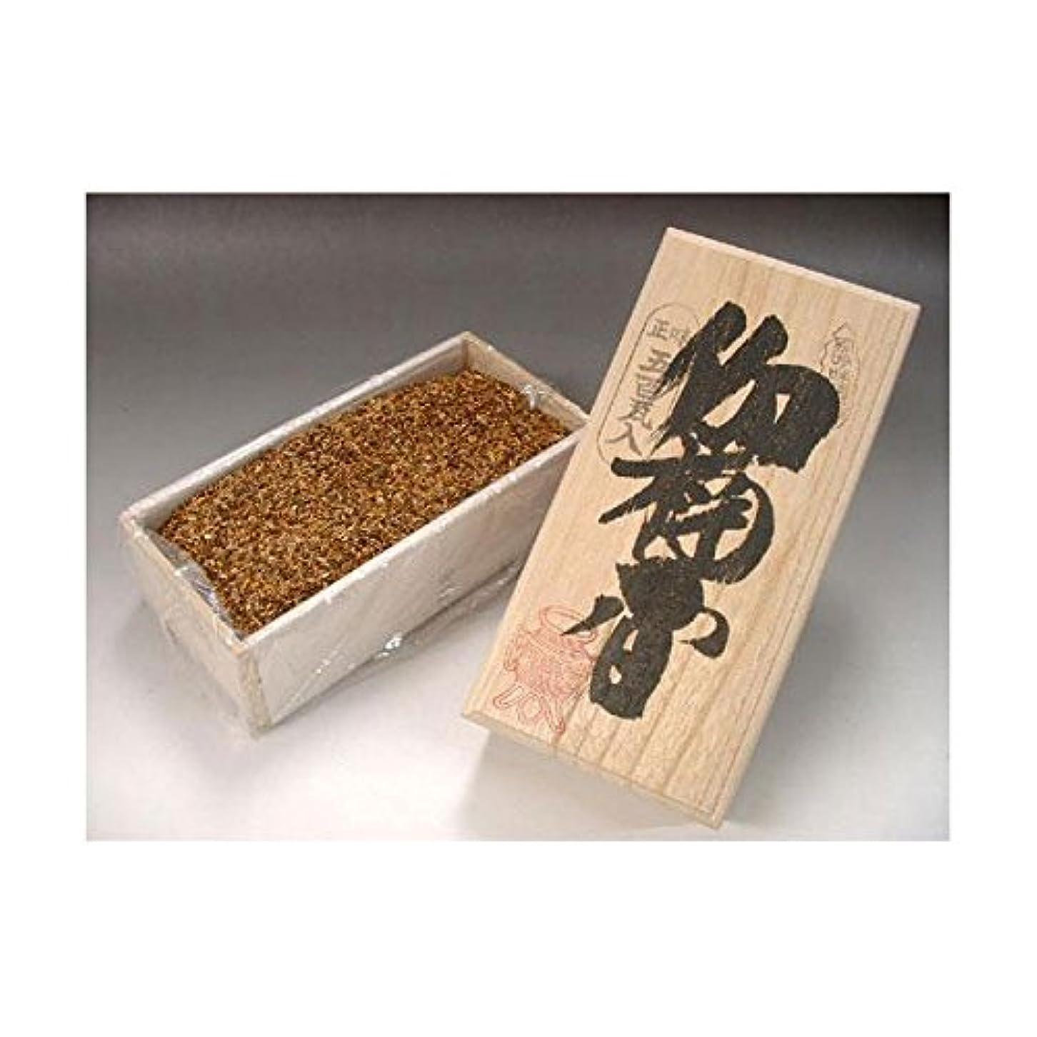 バンジージャンプ新年させる焼香 伽楠香(カナンコウ)500g桐箱入