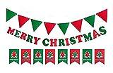 クリスマス 飾り フェルト ガーランド フラグ 旗 豪華 セット FS35 (3種セット)