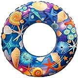 zhonghong 浮き輪 貝殻 海の星 海 プール 水遊び用 強い浮力 暑さ対策 カラフルフロート レディース メンズ 子供