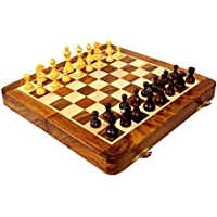 Wooden Magnetic Chess 10x10