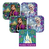 Hallmark(ホールマーク)03 dess - Girls Disney Frozen Birthday Party Pack Supplies for 16 guests -3 items - plates and napkins おもちゃ [並行輸入品]