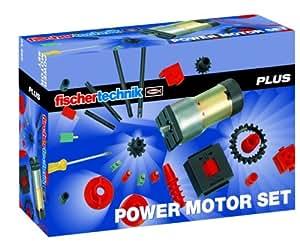 フィッシャーテクニック PLUS PA-04 パワーモーターセット(fischertechnik 34965 Power Motor Set)