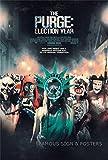 映画ポスター パージ:大統領令 The Purge: Election Year ジェームズ・デモナコ /ホラー インテリア アート フレームなし /両面【数量限定・初版】