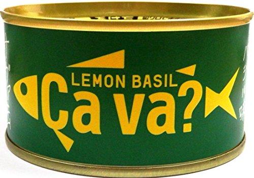 サヴァ缶 国産サバのレモンバジル味 170G×4個