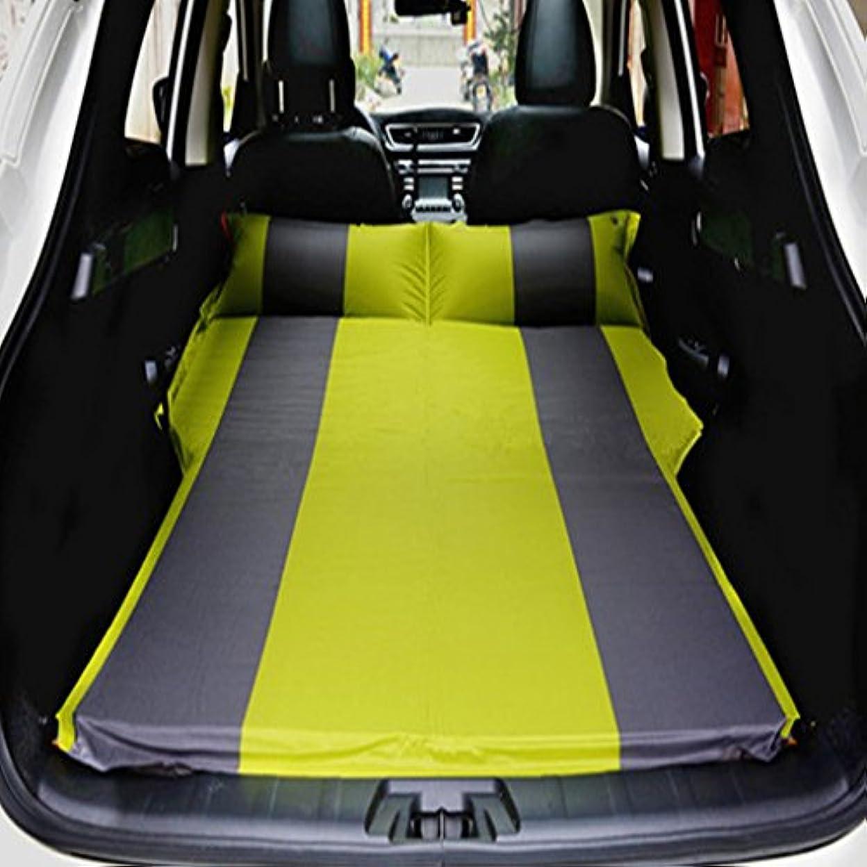 ハイブリッドドーム玉GYP インフレータブルマットレスナップアウトドアキャンプキャンプ湿気から車旅行ベッドカーベッドカーショック - プルーフパッドオフ - ロード車車の使用 (色 : C)