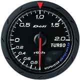 日本精機 Defi (デフィ) メーター【Defi-Link ADVANCE CR】ターボ計 60φ 200kpa (ブラック) DF08602