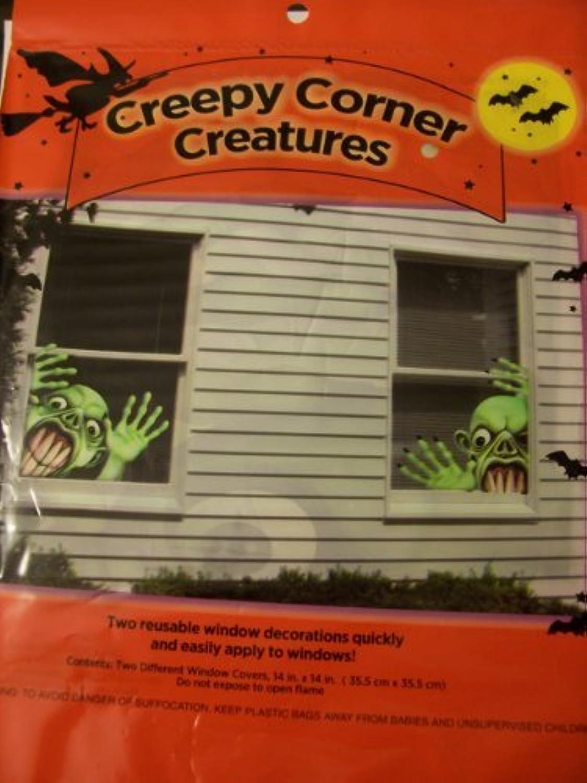 Halloween Window Decorations ~ Creepy Corner Creatures (Goblin) [並行輸入品]