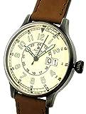 エアロマチック1912 腕時計 WW2ドイツ空軍レトロ加工復刻版ビッグデイト A1254 並行輸入品