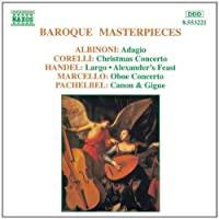 Baroque Masterpieces by VARIOUS ARTISTS (1995-05-23)