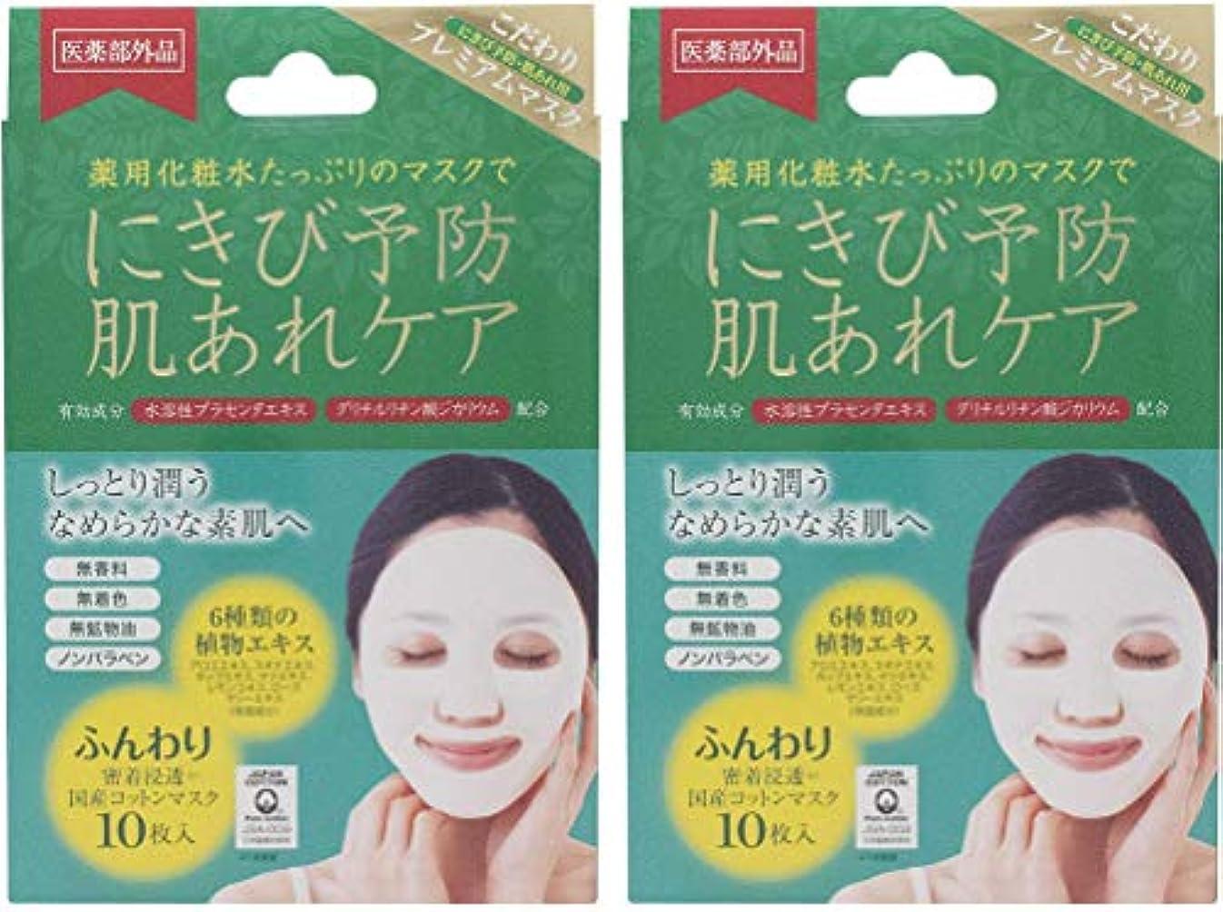 どちらか閲覧するインキュバス【2個セット】アクネピュアスキンフェイスマスク 10枚 (医薬部外品)