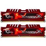 G.Skill Ripjaws X Series 16 GB (2 x 8 GB) 240-Pin DDR3 SDRAM Desktop Memory (1600 MHz, PC3 12800) F3-12800CL10D-16GBXL