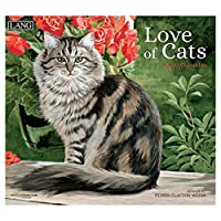 [猫 カレンダー 2020年]海外 ラング LANG/LOVE OF CATS Persis Clayton Weirs