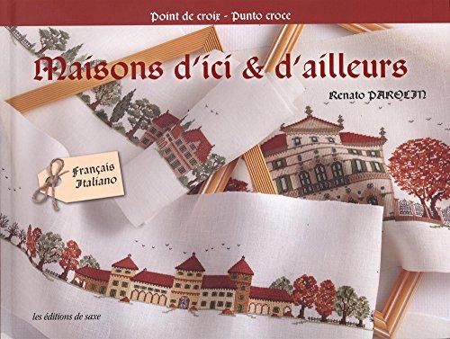 Edition de saxe <Maisons d'ici & d'ailleurs> クロスステッチ図案集-フランス語 E6521725