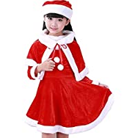 09d56f0d5b400 (チェリーレッド) CherryRed クリスマス コスチューム 衣装 仮装 変装 子供用 女の子 Christmas サンタコス サンタ