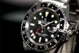 [CHRONOTAC]腕時計 英軍ブロードアロー自動巻 GMTマスター CT1 メンズ[正規輸入品]