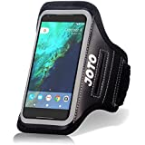 Running Armband for iPhone 11 Pro Max XS Max XR XS X 8+ 7+ 6S+ 6 Plus, Samsung Galaxy S10 S9+ S8 Plus Note 10 8 5, Pixel 3 XL, LG G7 V30, JOTO Sports Arm Case Exercise Gym Pouch Workout Cover –Black