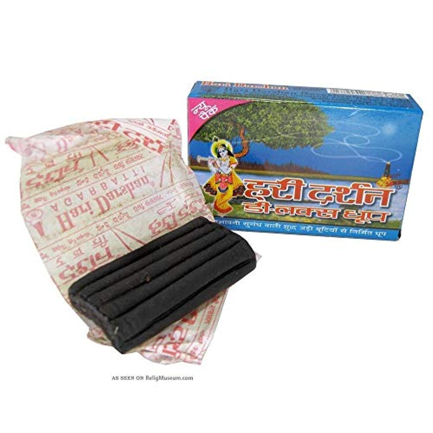 香港長椅子消化Indoselection Hari Darshan Deluxe Dhoopbatti - Pack of 12