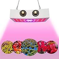 1000W COB LED植物成長ランプ、フルスペクトル調光可能VEGおよびBLOOMを備えた屋内植物花保育園植物育成ライト