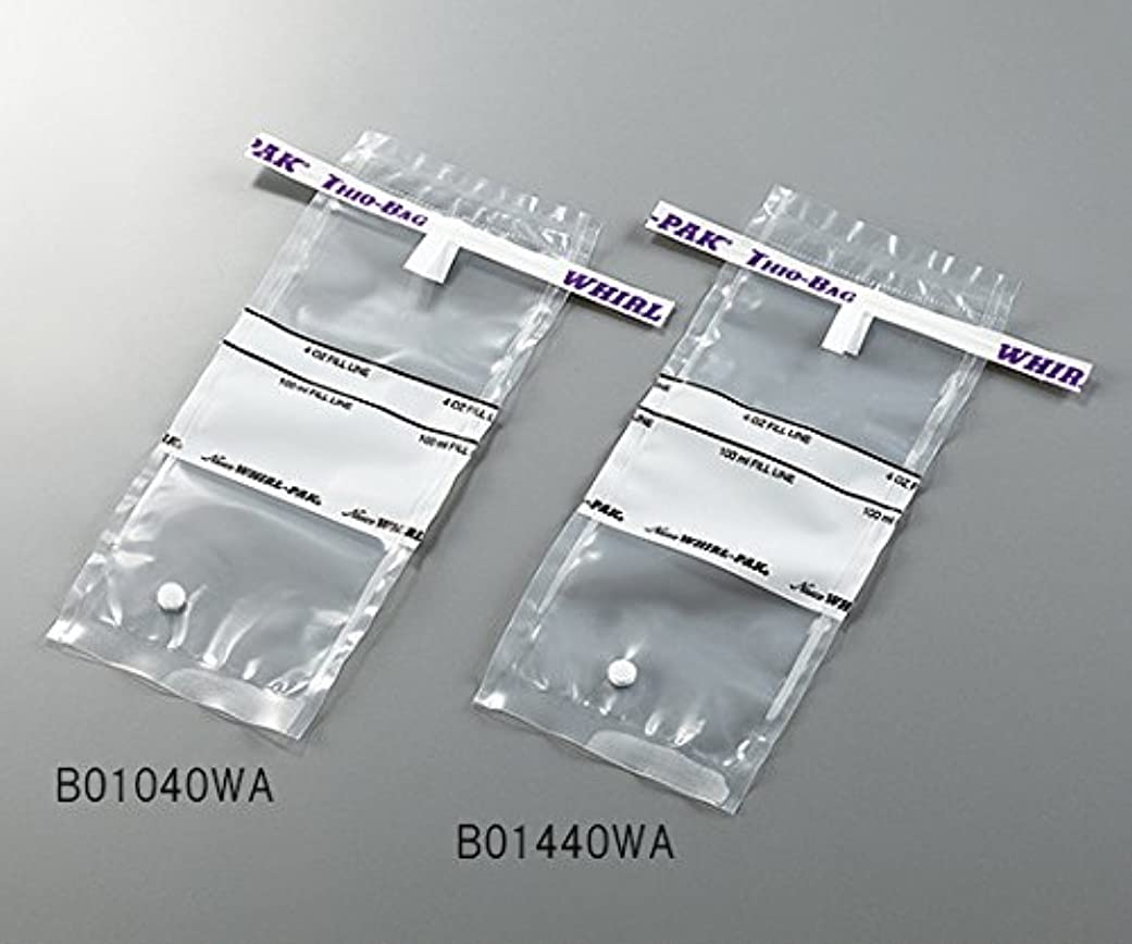 識別する栄光繁殖3-5414-01採水用サンプリングバッグ100mLチオ硫酸ナトリウム含有量10g