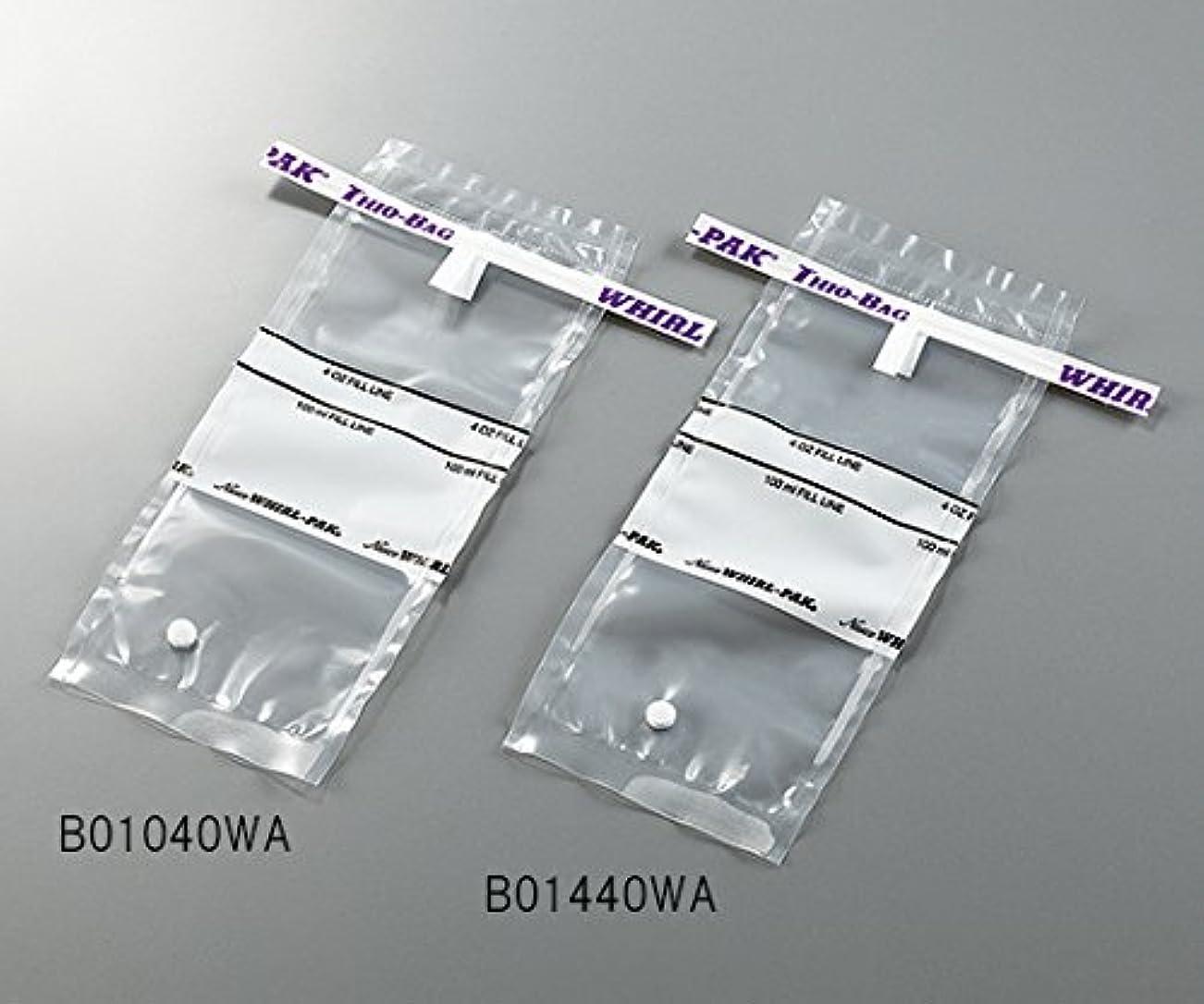 待って会議矢印3-5414-01採水用サンプリングバッグ100mLチオ硫酸ナトリウム含有量10g
