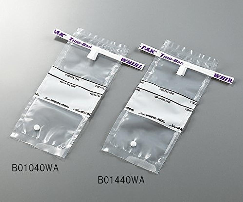 ミネラル農業独創的3-5414-01採水用サンプリングバッグ100mLチオ硫酸ナトリウム含有量10g