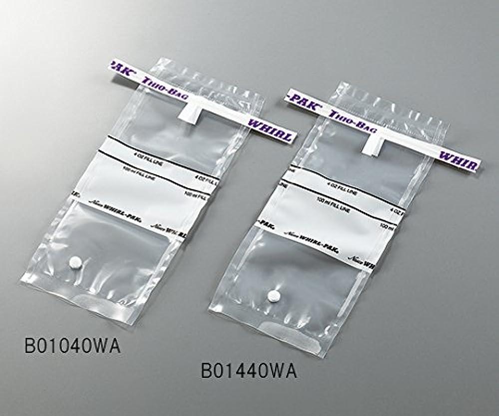 一貫した取り替えるテーブル3-5414-01採水用サンプリングバッグ100mLチオ硫酸ナトリウム含有量10g