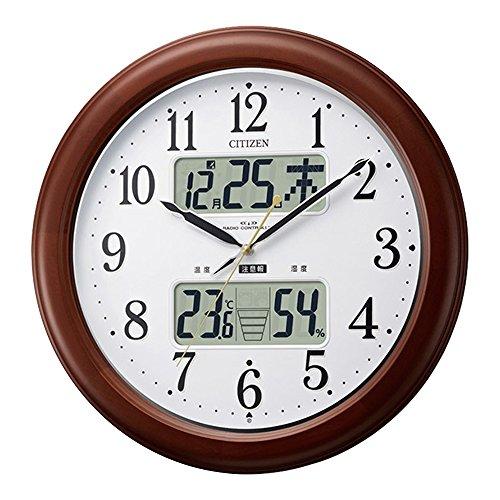 掛け時計 壁掛け時計 電波時計 大きいサイズ 大型 丸型 イ...