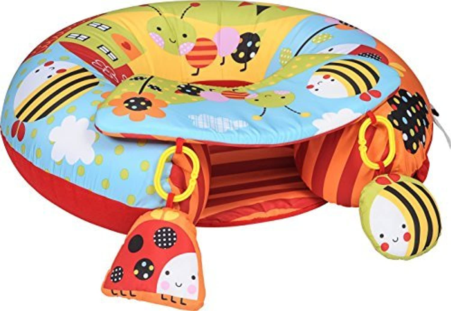 Red Kite - Sit Me Up - Garden Gang - Inflatable Ring with play tray by Red Kite