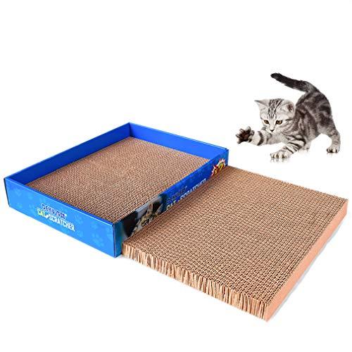 爪とぎ 猫 つめとぎ ねこ 方形 ダンボール 両面使い 猫爪研ぎ 段ボール 2個セット
