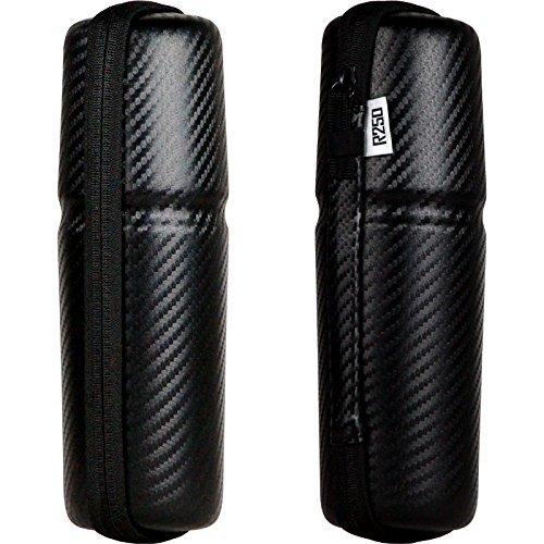 R250(アールニーゴーマル) ツールケース スリムロングタイプ カーボン柄/ブラックファスナー R25-K-TOOLCASEG5 カーボン