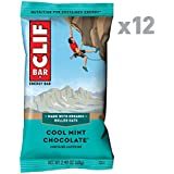 Clif Bar Cool Mint Chocolate (Box of 12), 816 g