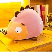 HuaQingPiJu-JP 40cm背の高いヘッジホッグソフトぬいぐるみふわふわぬいぐるみヘッジホッグ子供用子供のためのおもちゃギフト(ピンク)