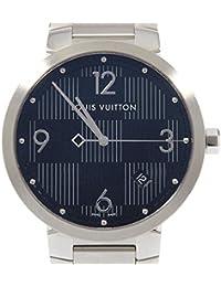 [ルイヴィトン] LOUIS VUITTON Q1D07 タンブールスリムダミエグラフィット クォーツ(2266000187433) 中古