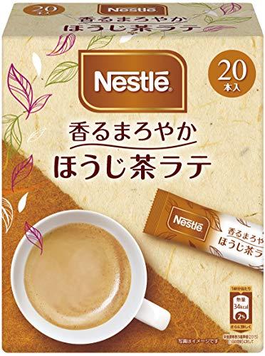 【まとめ買い】ネスレ 香るまろやか ほうじ茶ラテ 20個×3箱