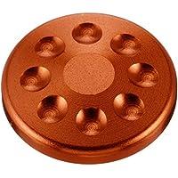 ポッシュ(POSH) キャップボルトカバー M8用 ディープオレンジ 000820-14