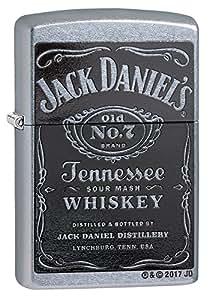 ZIPPO(ジッポー) 24779 Jack Daniels Old No. 7 Street Chrome/ストリートクローム FULL SIZE ZIPPO LIGHTER/ジッポライター[並行輸入品]