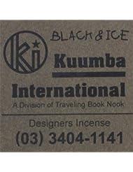 KUUMBA / クンバ『incense』(BLACK&ICE) (Regular size)
