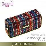ジム・トンプソン JIM THOMPSON メイクアップケース チェック タイシルク 高級ブランド メイク 化粧ポーチ