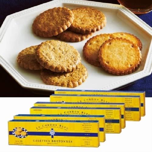 ル・コルドン・ブルー (Le Cordon Bleu) ガレット3種 6箱セット【フランス 海外土産 輸入食品 子 スイーツ】
