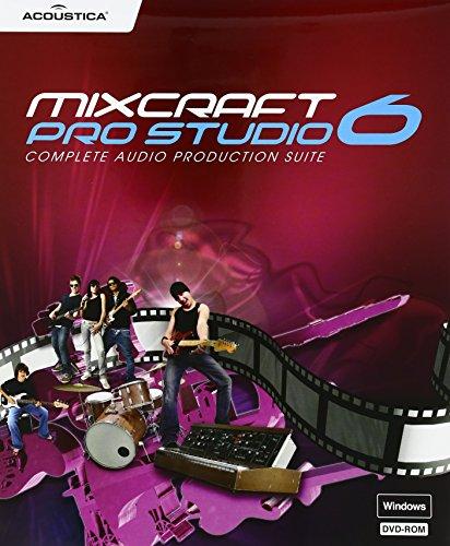 ACOUSTICA DAW(音楽制作)ソフト Mixcraft Pro Studio 6