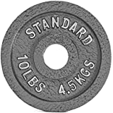 (4.5kg) - CAP Barbell 4.5kg Olympic Plate, Grey