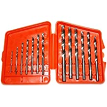 SHWHASH 13 pcs Power Tools Drill Bits,Tempered hss Material,1.5-6.5mm Countersink