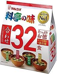 マルコメ たっぷりお徳料亭の味 (32食) 576g