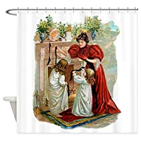 CafePress–クリスマスの前の夜シャワーカーテン–装飾ファブリックシャワーカーテン