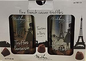 Mathez(マセズ) フレンチ トリュフチョコレート(ファンシートリュフ) 500gx2缶