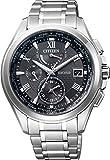[シチズン]CITIZEN 腕時計 EXCEED エクシード ダブルダイレクトフライト ドレスライン 針表示式ワールドタイム デュラテクトα搭載 エコ・ドライブ電波時計 AT9054-57E メンズ